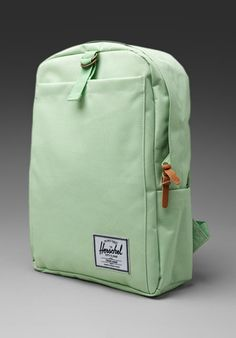 Mint green Herschel Supply backpack