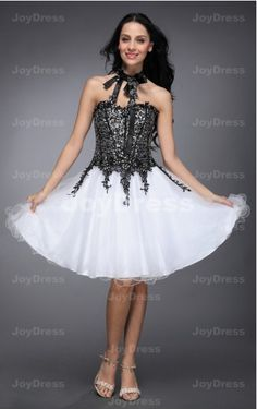 buy dresses at www.joydress.co.uk  Tie Ball Gown Sweetheart Short Dress