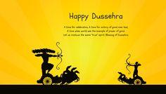Celebration of Victory over evil – Dussera