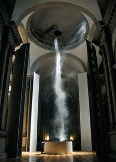 ANISH KAPOOR . Basilica di San Giorgio Maggiore 2011 . Ascension . 1st June-27th November . Venice .
