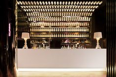 Too much wallpaper is never enough – Pretty Please Lounge bar in Melbourne designed by TravisWalton