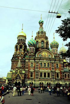 Church of Our Savior on the Spilled Blood St Petersburg
