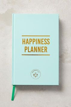 Anthropologie The Happiness 100-Day Planner #anthrofave #anthroregistry