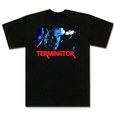 Terminator Arnold Schwarzenegger Movie T Shirt is available on a Black Cotton Tee. The Terminator Arnold Schwarzenegger Movie T Shirt is available in all sizes which you can select from the shirt size drop down above. Arnold Schwarzenegger Movies, Movie T Shirts, Cotton Tee, Animation, Mens Tops, Black, Fashion, Moda, Black People