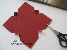 CRAFTDOC » Blog Archive » Tutorial – Stampin' Up! Punch Board Card Boxes