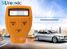 GM200 Ultrasónico Mini Tester Medidor De Espesor de Recubrimiento de Película Coche medir Espesor Pintura de Espesor de Revestimiento Gauge Meter Tester