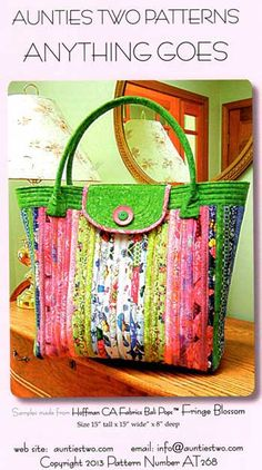 Anything Goes Bag Pattern - Click Image to Close