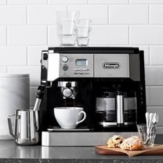 Built In Coffee Maker, Coffee And Espresso Maker, Espresso Drinks, Coffee Brewer, Coffee Coffee, Cappuccino Machine, Espresso Machine, Homemade Smoker, Bbq Pitmasters