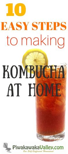 Making kombucha is much easier than you might think. There are so many technical guides out there telling you how to make kombucha, you can be forgiven for being confused. This lazy persons guide to making kombucha removes all the fancy fluffing around and just makes simple, good, tasty kombucha. Find out how!
