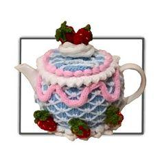 Iced Cake Tea Cosy - Knitting Patterns at Makerist