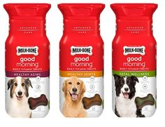 Milk-Bone Good Morning Daily Vitamin Treats 3 Flavor Variety Bundle: (1) Milk-Bone Healthy Aging, (1) Milk-Bone Healthy Joints, and (1) Milk-Bone Total Wellness, 6 Oz. Ea. (3 Total) ** Check this awesome image  : Dog treats