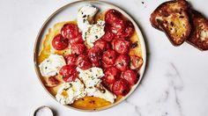 Roasted Tomato Caprese Recipe | Bon Appetit