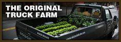 Truck Farm is a mobile garden education project founded in Brooklyn. We love Truck Farm!