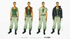 ArtStation - ALIEN:Isolation Ripley Costume Variations, Calum Alexander Watt