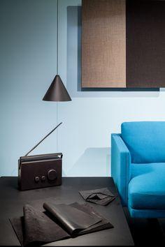 #Arper booth #salonedelmobile #Steeve sofa