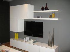 Modern Banc TV IKEA Besta cabinet Combination