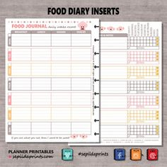 Download A Free Printable Daily Food Log To Track Your Food And