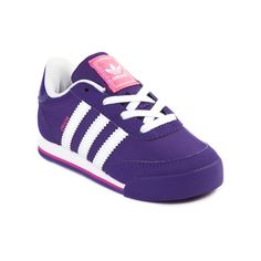 Shop for Toddler adidas Orion Athletic Shoe in Purple White Pink at Journeys Kidz. Shop today for the hottest brands in mens shoes and womens shoes at JourneysKidz.com.For little feet ready to kick it in a classic way. The vintage-inspired adidas Orion features a lightweight mesh upper with synthetic leather overlays, comfy mesh padded collar, EVA cushioned midsole, and durable rubber outsole.