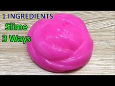 No Glue Clear Slime with Shampoo and Sugar, How to make Clear Slime only 2 Ingridients, No Borax - YouTube