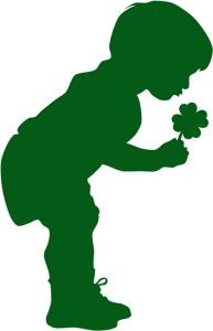 Silhouette Design Store - View Design little boy with clover Silhouette Painting, Silhouette Images, Silhouette Vinyl, Silhouette America, Silhouette Design, Christmas Yard Art, St Patrick's Day Decorations, St Pattys, Little Boys
