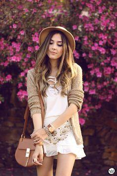FashionCoolture - 08/27/2015 look du jour MondaBelle white outfit leopard shoes (2)