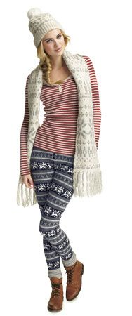 A little bit in love with the Christmas leggings Fall Outfits, Cute Outfits, Christmas Leggings, British Style, Get The Look, Lazy, Mens Fashion, Clothing, Sweaters
