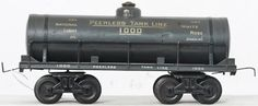Bing gauge 1 1000 Peerless tank car Lot 879