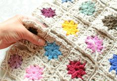 9 ways in the joining of Granny Squares
