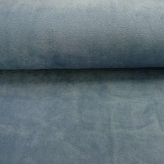 Stoff Sterne - Fleece Rauch-Blau - ein Designerstück von naala-moda bei DaWanda