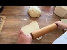 Fantasticke nadychane domace rozky z kvasku - YouTube Rolling Pin, The Creator, Youtube, Food, Essen, Meals, Youtubers, Yemek, Youtube Movies