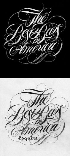 Lettering by Like Minded Studio