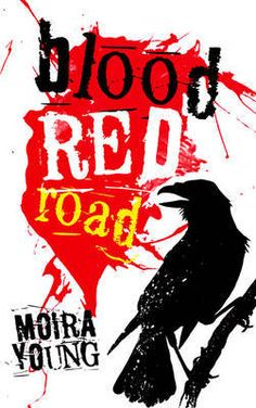 Blood Red Road (Dust Lands, #1) by Moira Young   In a lawless future land, where life is cheap and survival is hard, Saba has been brought up in isolated Silverlake. She never sees the dangers of the destructive society outside. When her twin brother is snatched by mysterious black-robed riders, she sets outon an epic quest to rescue him. The story's searing pace, its spare style, the excitement of its fabulously damaged...