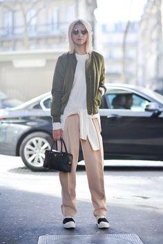 Khaki and neutrals | Streetstyle | HarperandHarley
