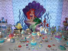Little Mermaid Party #littlemermaid #party