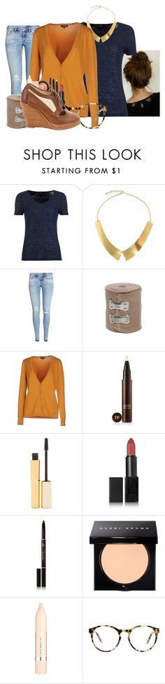 """The vanishing"" by cheyleexox ❤ liked on Polyvore featuring VILA, ASOS, H&M, L.A. BLUE ROSE, Tom Ford, Stila, NARS Cosmetics, Anastasia Beverly Hills, Bobbi Brown Cosmetics and L'Oréal Paris"