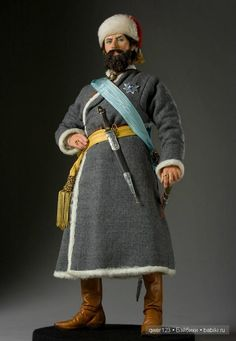 Emelyan Pugachev (1742 - 1775), was a contender for the Russian throne, headed Cossack rebellion during the reign of Catherine II