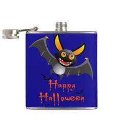 Happy halloween! Liquid Courage Hip Flask - home gifts ideas decor special unique custom individual customized individualized