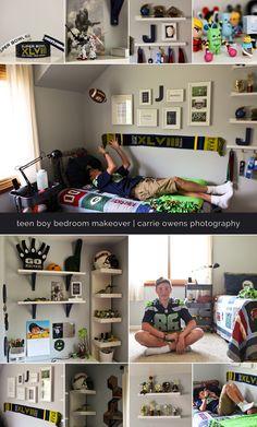 teenage boy room makeover   salt lake city utah teen photographer