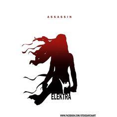 Assassin - Electra By Steve Garcia