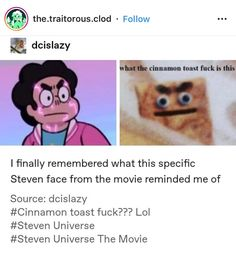 Diamante Rosa Steven Universe, Steven Universe Funny, Stupid Funny, Hilarious, Cat Stevens, Star Vs The Forces Of Evil, Funny Comics, Adventure Time, Decir No