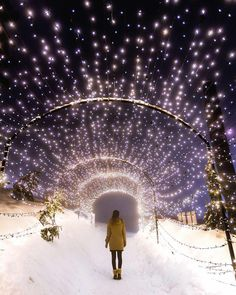 There's something truly magical about Christmas lights during the holidays. We've rounded up 8 of our favourite spots in Canada to see gorgeous Christmas lights. Vancouver Winter, Visit Vancouver, Vancouver Travel, Downtown Vancouver, Vancouver Vacation, North Vancouver, Lac Moraine, Winter Photography, Landscape Photography