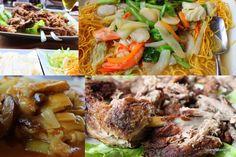 Collage of a memorable meal in Imperial Tai Pan in Playa de las America's Safari Center