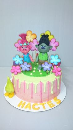 Troll Dolls Birthday Cakes For  Year Old Girld