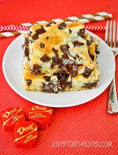 Dark Chocolate Cream Cheese Cake Recipe