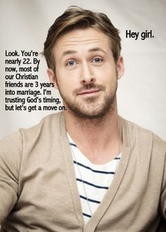 "ryan gosling CLEAN ""hey girl"""