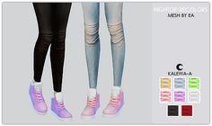 Hightop Recolors at Kalewa-a via Sims 4 Updates