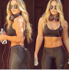 46 Fantastic Gym Outfit for Girls and Women #Fashion https://seasonoutfit.com/2018/01/01/46-fantastic-gym-outfit-for-girls-and-women/
