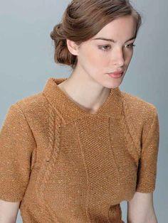 DIY-Anleitung: Sweater im Land-Girl-Look stricken via DaWanda.com