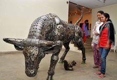 Junk Art Exhibition in Bangalore