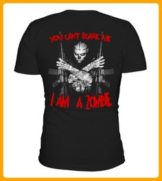YOU CANT SCARE ME I AM ZOMBIE - Halloween shirts (*Partner-Link)